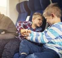 Algunos pasajeros elogian a los transportadores que les advierten de los niños que estarían cerca de sus sillas.