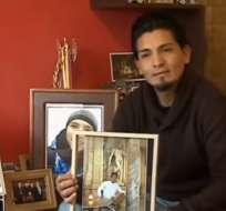 Luis Fernando Yugsi dio detalles de la muerte de Steven. Foto: Captura de pantalla