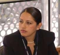 Paola Pabón - Prefecta de Pichincha. Foto: Archivo