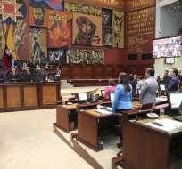 Sesión de la Comisión de Régimen Económico el 5 de diciembre de 2019. Foto: Flickr/Asamblea Nacional
