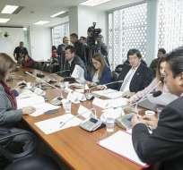 La Comisión Multipartidista enviará el documento de 170 páginas a la Asamblea Nacional. Foto: www.asambleanacional.gob.ec