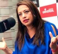 El 14 de octubre pasado la prefecta Paola Pabón fue detenida para investigaciones por el delito de rebelión.