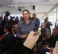 Pabón se encuentra detenida desde el pasado 14 de octubre.