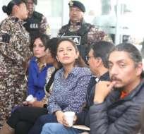 Pabón, Hernández y González son investigados por el presunto delito de rebelión. Foto: API