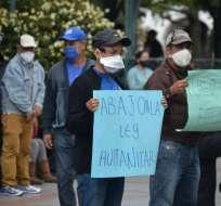 La aprobación de la Ley Humanitaria ha generado protestas en el país. Foto: API