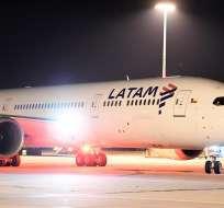 La aerolínea se declaró este martes en bancarrota. Foto: EFE