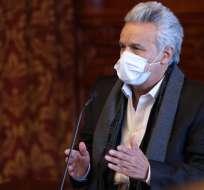Moreno firmó un decreto el pasado lunes en el que dispuso el retorno del pago anticipado del Impuesto a la Renta.