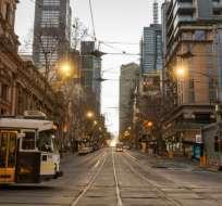 Los habitantes de Melbourne han soportado uno de los confinamientos más estrictos del mundo. Getty Images