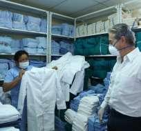 El ministro de Salud, Juan Carlos Zevallos, en una imagen de archivo. Foto: Twitter
