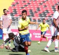 Jordan Rezabala, marcó dos tantos para Ecuador