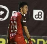 Gonzalo Valle, portero de Guayquil City.