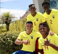 El Brighton and Hove Albion envió scouts para ver al defensor en el sudamericano sub-20. Foto: Tomada de @FEFecuador