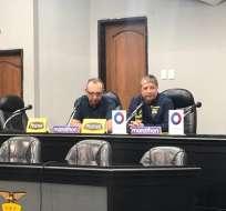 El entrenador de la selección ecuatoriana dijo que el grupo de la Copa América es parejo. Foto: Daniel Navas/Ecuavisa