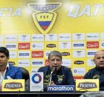 Así lo confirmó el 'Bolillo' Gómez y el vicepresidente de la FEF, Jaime Estrada. Foto: API