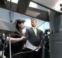Presidente Correa visitó las instalaciones del INEN