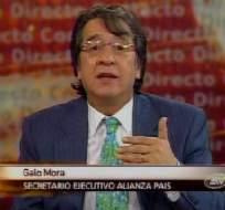 Galo Mora: No hay fracturas en el Gobierno