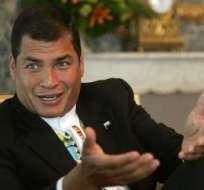 Correa reitera que El Universo debería rectificar