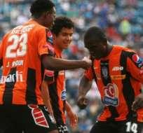 Jaime Ayoví marcó gol en empate 1-1 en partido Cruz Azul - Pachuca