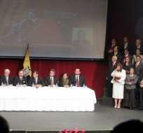 Posesionados los 21 nuevos jueces de la Corte