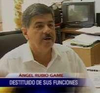 Consejo de la Judicatura destituyó al juez Ángel Rubio Game