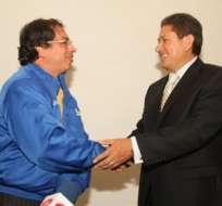 Alcalde de Bogotá firma en Quito acuerdo de cooperación sobre discapacidades