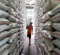 Brasil dona 280 toneladas de arroz para refugiados en Ecuador
