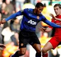 Antonio Valencia estará un mes de baja en el Manchester United