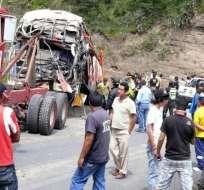 Agencia de Tránsito revela causa de accidente en vía Ibarra-San Lorenzo