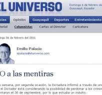 Diarios de Colombia reproducen el artículo 'NO a las mentiras'