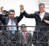 Se generaron las primeras reacciones de implicados en el perdón de Correa