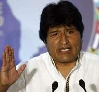 Morales hospitalizado para exámenes médicos, según vicepresidente boliviano