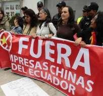 Ecologistas detenidas tras tomarse embajada de China fueron liberadas