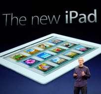 Apple presentó en la ciudad de San Francisco la nueva iPad