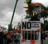 Miles marchan contra el Gobierno y explotación minera en Cuenca