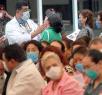 Suman 229 muertos por la gripe A en México en lo que va del 2012