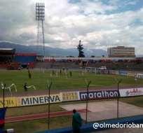 Olmedo vs Independiente, un partido sin goles