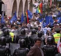 Cuenca se suma a las marchas a favor y en contra del régimen