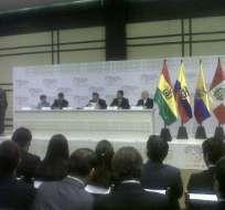 700 empresarios de la CAN asisten a un encuentro comercial en Ecuador