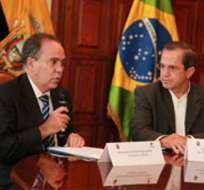 Brasil donó 500 mil dólares a ACNUR para los refugiados en Ecuador