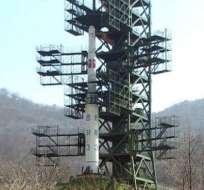 Corea del Norte lanza su cohete de largo alcance, según Yonhap