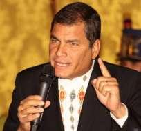 Presidente Rafael Correa inaugura el año lectivo en la región Costa
