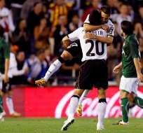 El Real Betis, con Montero en cancha, cae por cuatro goles ante el Valencia