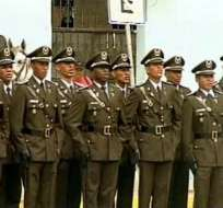 30 mil jóvenes buscan cupo para formar parte de la Policía Nacional