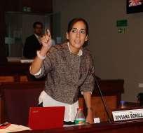 Viviana Bonilla es la segunda mujer en asumir la Gobernación del Guayas