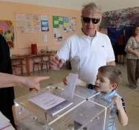 Partido Nueva Democracia, el más votado en Grecia, según sondeos