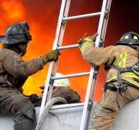 Mire cómo se vio y vivió el incendio en diferentes lugares de Guayaquil