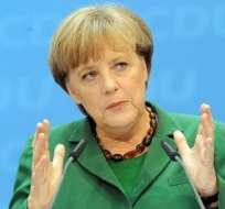 Merkel confirma reunión con Hollande la semana próxima en Berlín