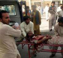 Bomba causa al menos cinco muertos y 27 heridos en el este de Pakistán