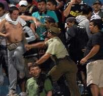 Policía gravemente herido por desmanes tras partido de Barcelona