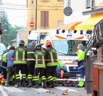 Alrededor de seis muertos y 50 heridos deja terremoto en Italia